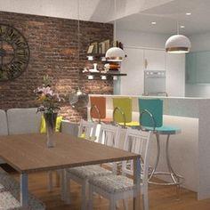 Modern Rendering by Whitehouse Interiors (UK) Ltd