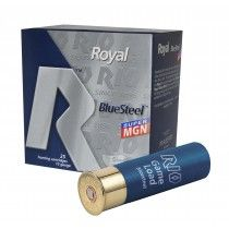 High velocities, and perfectly spherical steel shot. Shotgun Shells, Royal Blue, Rio, Steel, Hunting, Steel Grades, Iron