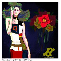 #FashionIllust #Fashion #Art #Feminism #Flower