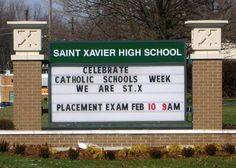 i went to high school at Saint Xavier where. in high school i was never really a great student i had trouble doing homework and making deadlines especially with writing papers and reading. as high school went on my reading and writing skills improved which made my schoolwork easier and made me a better student.