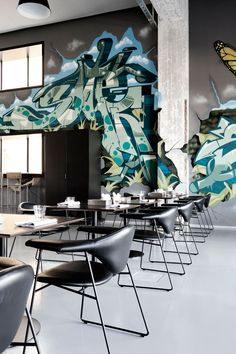 A Former Shipyard Building Is Transformed Into The AMASS Restaurant In Copenhagen | http://www.yatzer.com/amass-restaurant-copenhagen photo © Enok Holsegaard.