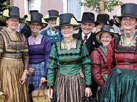 Historical costumes, © Chiemsee Alpenland Tourismus/ Franz-Josef Fischer