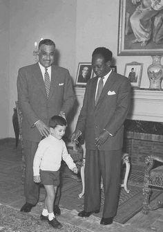 الزعيمان عبد الناصر و نكروما