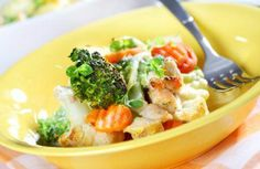 Clean eating chicken bake. From the Eat-Clean Diet website.  Slightly modified by adding chicken broth.