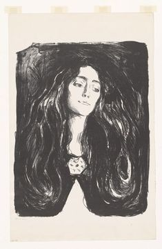 View The Brooch. Eva Mudocci by Edvard Munch on artnet. Browse upcoming and past auction lots by Edvard Munch. Edvard Munch, Painting Prints, Canvas Prints, Art Prints, Canvas Art, Klimt, Matisse, Vincent Van Gogh, Oeuvre D'art