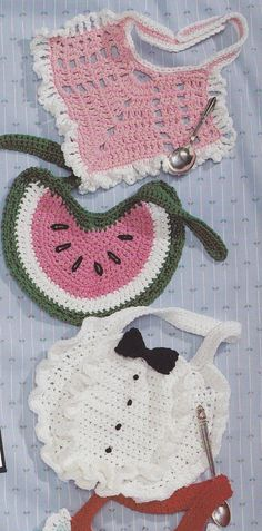 Baby Bibs Crochet Patterns