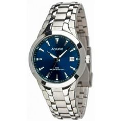 Accurist MB840N Mens Core Sports Navy Silver Watch Accurist. $71.98. Date Window