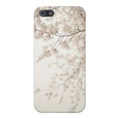 Weiße Kirschblüten - Central Park-Frühling iPhone 5 Cover