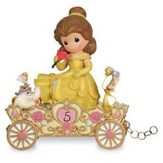 #6811030080109P Belle ''A Beauty to Behold at Five Years Old'' Fifth Birthday Figurine by sensationaltreasures