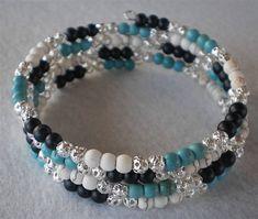 Bracelet de perles en pierre semi-précieuse turquoise 4