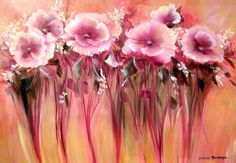 Flores con Esponja