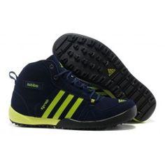 Billige Adidas Daroga Two Læder Mid Mørkblå Grøn Herre Skobutik   Fantastisk Adidas Daroga Two Læder Mid Skobutik   Adidas Skobutik Online   denmarksko.com