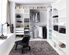 Walk in wardrobe inspiration dressing room in 2019 wardrobe room, closet be Wardrobe Room, Closet Bedroom, Home Bedroom, Bedrooms, Master Closet, Closet Space, Closet Office, Master Bedroom, Ikea Walk In Wardrobe