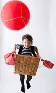 Sei idee per realizzare a casa buffissimi costumi di Halloween - La mongolfiera