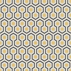 Cole and Son The Contemporary Collection Hicks Hexagon Wallpaper Feature Wallpaper, Print Wallpaper, Pattern Wallpaper, Geometric Hexagon Wallpaper, Cole Son, David Hicks, Cole And Son Wallpaper, Contemporary Wallpaper, Wallpaper Online