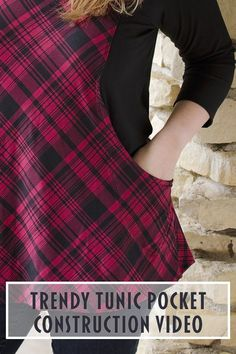 Trendy Tunic pocket construction video