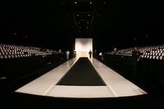 Empty Fashion Runway | Carmen Marc Valvo Got a Free Space for Fashion Week - The Cut