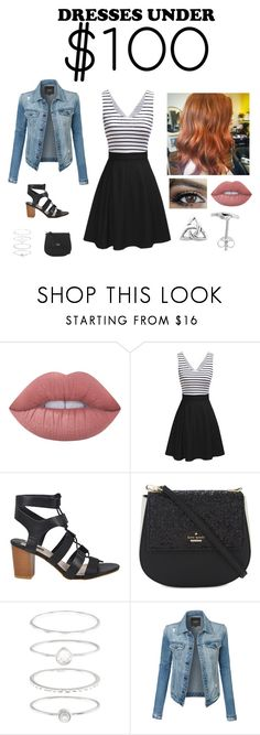"""""""New Hair Debut (outfit inspo)"""" by bookworm21397 ❤ liked on Polyvore featuring Lime Crime, Kate Spade, Accessorize and LE3NO"""