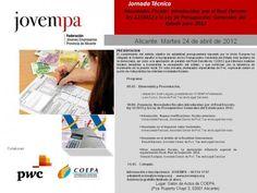Jornada Técnica Novedades Fiscales introducidas por el Real Decreto-ley 12/2012 y la Ley de Presupuestos Generales del Estado para 2012  24 de Abril de 2012 en COEPA