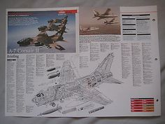 #Cutaway key #drawing of the #vought a-7 corsair ii,  View more on the LINK: 	http://www.zeppy.io/product/gb/2/361710823096/