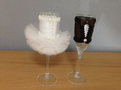 Copas decoradas para bodas - YouTube
