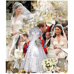 The Royal Wedding, created by sylphide.polyvore.com