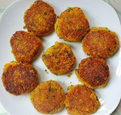 Low Fat, High Carb Vegan Falafel - from theglowingfridge.com