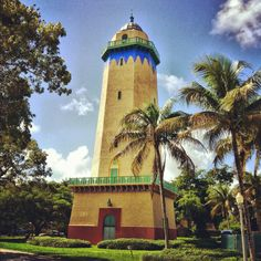 Must see?: The Lighthouse that has never seen the sea! Visit Florida, Old Florida, South Florida, Florida Keys, Alhambra Water, Coral Gables Miami, Crandon Park, South Beach Miami, Palm Beach