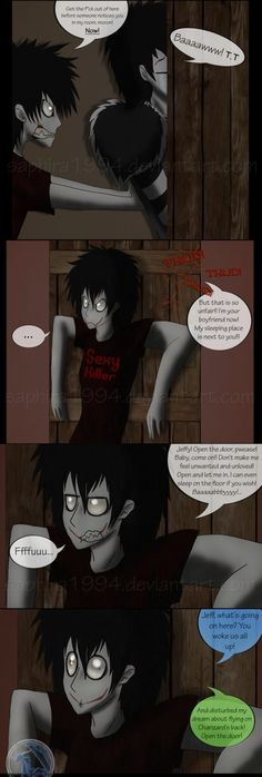 Adventures With Jeff The Killer - PAGE 47 by Sapphiresenthiss on deviantART