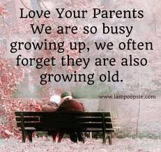 Parents are not around forever - nor grandmothers and grandfathers. We are so busy growing up, and raising their grandchildren, that we tend to not see time slip by and our mother and father growing old. - DdO:) - http://www.pinterest.com/DianaDeeOsborne/peaceful-people/ - PEACEFUL PEOPLE. Cool saying found via Karen Cawthon, with photo pin via Doreen McGill.