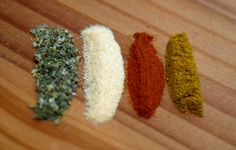 The Top Four cancer fighting spices: Turmeric, garlic(better eaten raw) oregano and cayenne pepper