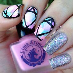 Instagram photo by getonmynail  #nail #nails #nailart