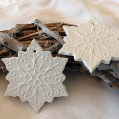 Scandinavian Snowflake Tags | French & Sparrow