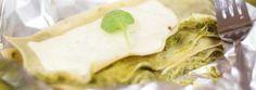 Lasagne ze szpinakiem z parowaru