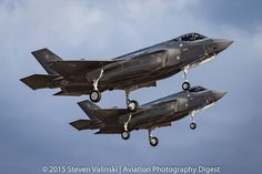 "https://flic.kr/p/AkMgGd | Twin Lightning | Lockheed Martin F-35A Lightning II JSF  12-5044 & 12-5046  61st Fighter Squadron (61 FS) ""Top Dogs""  Luke AFB, AZ USA"