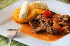 Desayuno panameño... Panamanian breakfast // La Mesa de Freddo: Bistec con Tortilla: Un clásico de allá o'nde uno.
