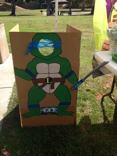 Teenage Mutant Ninja Turtles Birthday Party Ideas   Photo 5 of 7   Catch My Party
