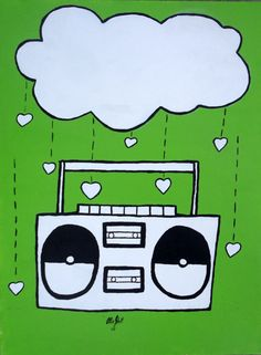stereo [rain music notes too]