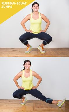 40 different types of squats! Yeah