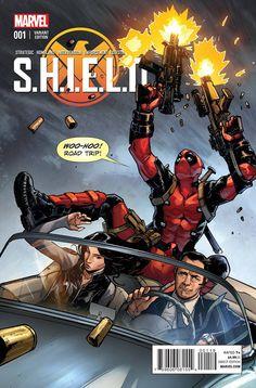 S.H.I.E.L.D #1 Variant