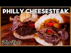 Here's our version of the famous Philly Cheesesteak. When I lived there, this became one of my favorite sandwiches to indulge in on weekends. If you like ste...