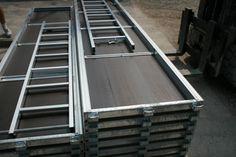 Robust Durchstieg mit integrierter Aluminium Leiter 2,57 m -3,07 m. Stahlböden, Durchstiegstafel, Stahlgerüst, Albgerüst, Baugerüst, Fassadengerüst, Malergerüst, gebrauchtes Gerüst, neues Gerüst, MJ Gerüste, Layher Gerüst gebraucht