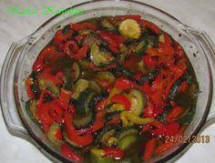 Katica konyhája: Antipasti avagy savanyúság kicsit másképp
