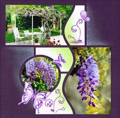 Scrap à Chambé: Premières fleurs de glycines.....