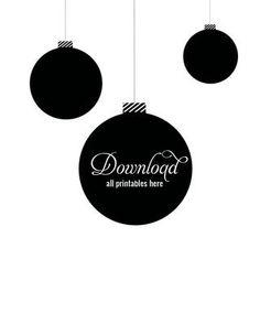 40 Free Christmas Printables