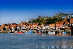 Whitby in Northern England