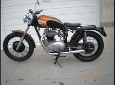 1970 Triumph Bonneville Traditional Bobber Motorcycle