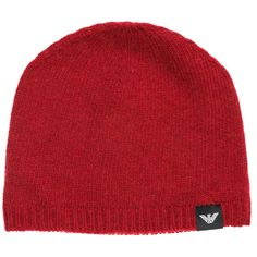 25e2988a7b0 eBay  Sponsored EMPORIO ARMANI MEN S WOOL BEANIE HAT NEW RED BB7