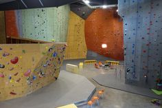 Cirgue Climing Gym, Lacey, WA by Elevate Climbing Walls Climbing Wall, Rock Climbing, Walls, Gym, Building, Design, Wands, Buildings, Wall