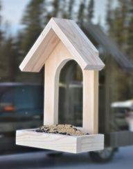 How To Make A Simple Window DIY Bird Feeder | Shelterness